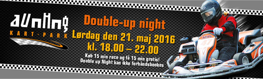 Web double up night 21. maj 2016